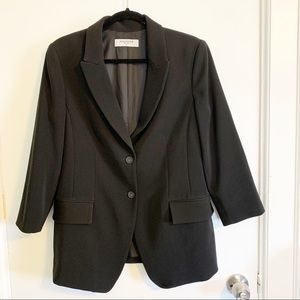 NWOT MM Lafleur Black Blazer Size 10